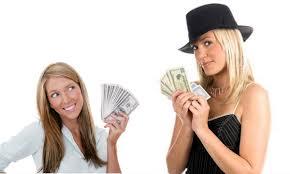 Не считайте не заработанные деньги