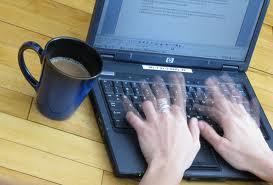 печатать на клавиатуре
