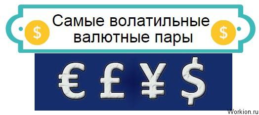 волатильные валютные пары