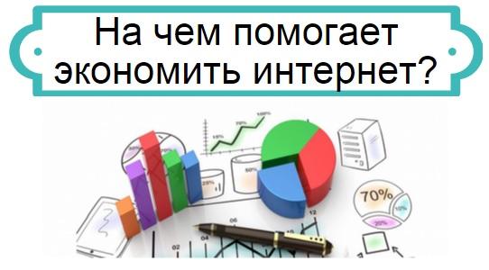 экономия в интернете