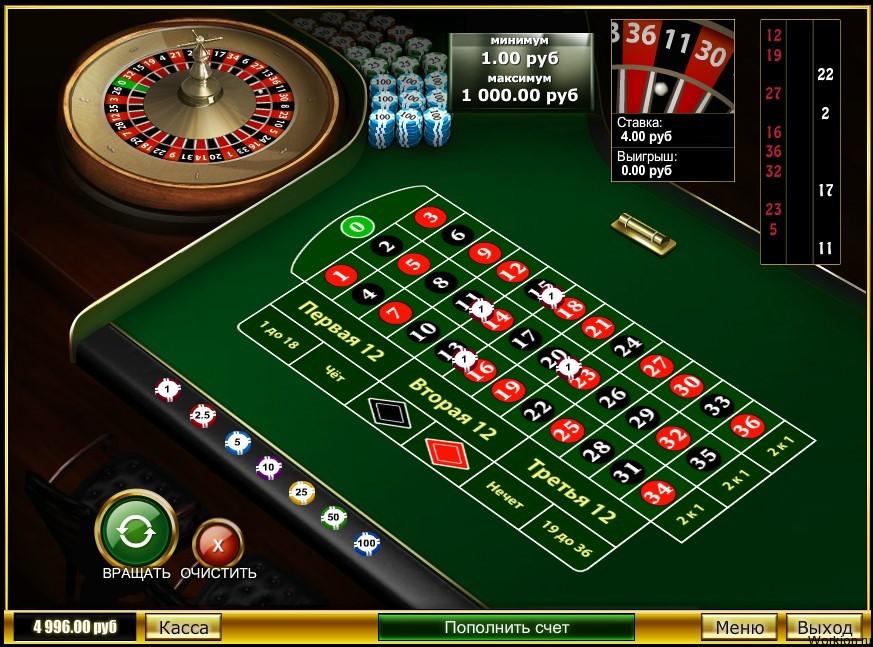 казино минимальная ставка