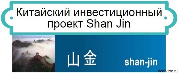 инвестиции в Shan Jin