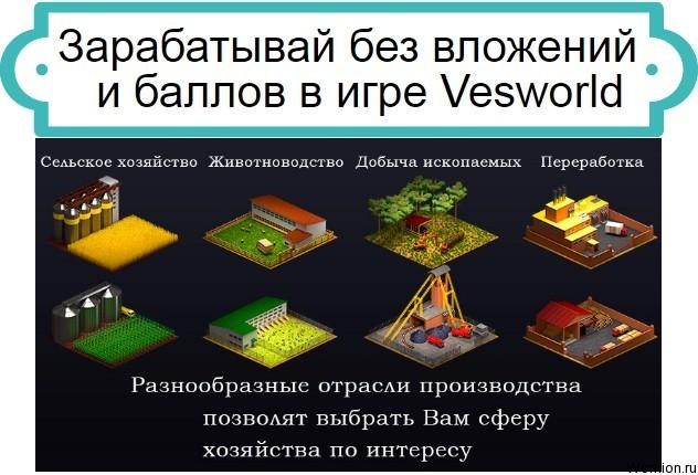 как играть в Vesworld