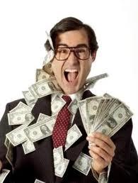 человек с деньгами