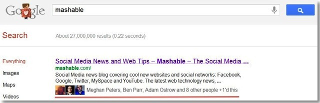 Кнопка Google +1 и оптимизация