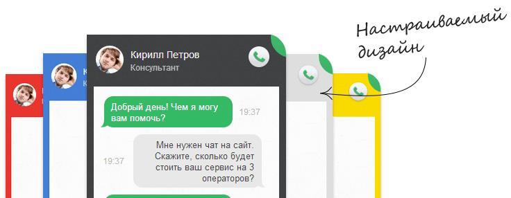 Консультант для сайта от Jivosite