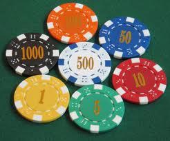 Почему фишки в казино разного цвета?