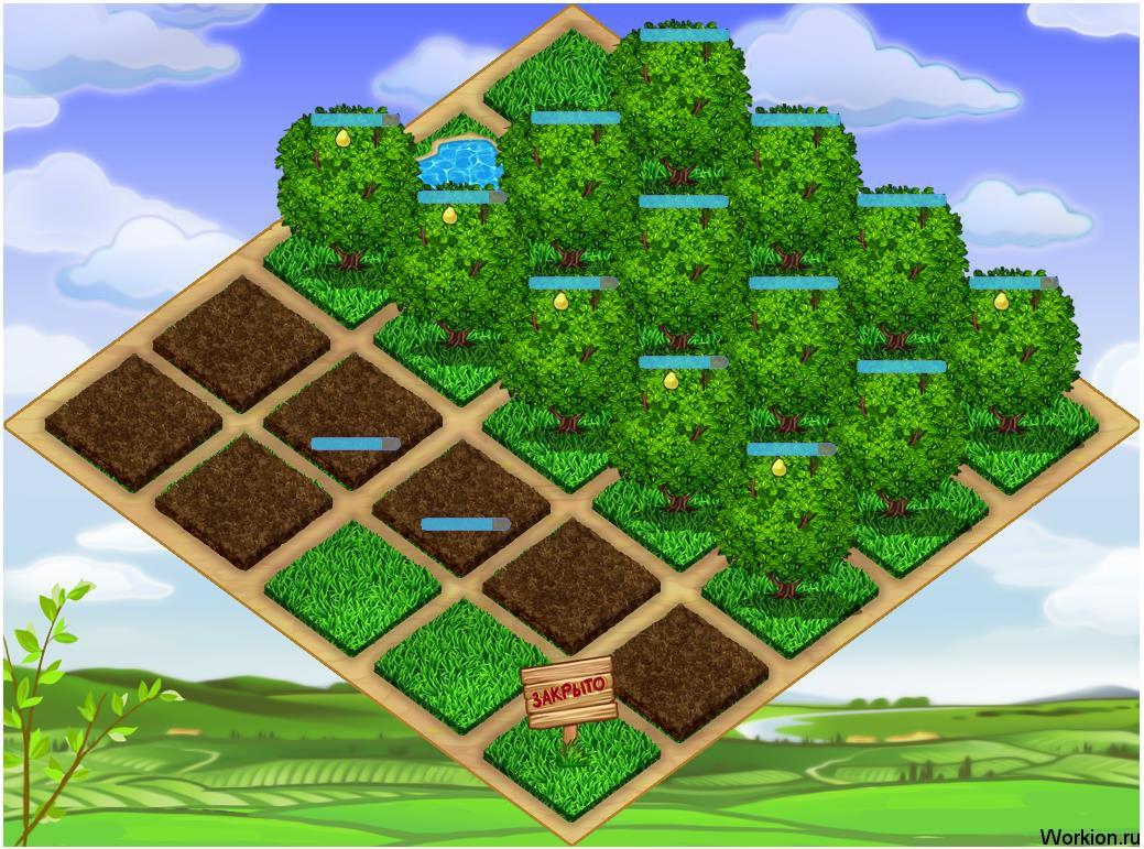 Игра для заработка Друзья садоводы