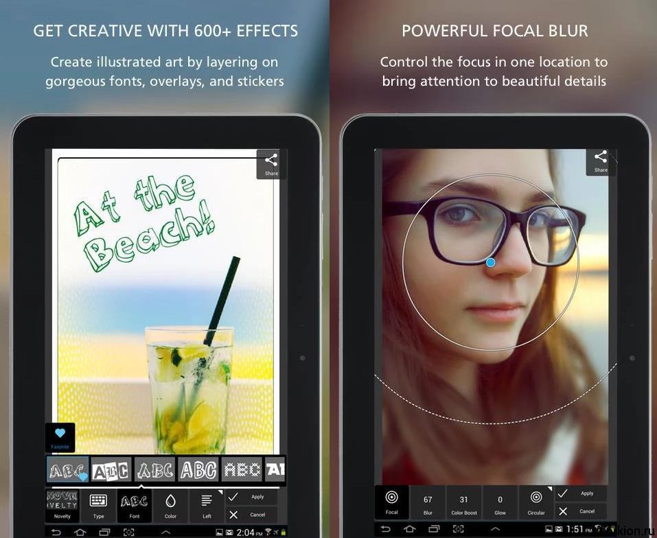 ТОП лучших фото-редакторов для Android