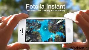 Заработок с Fotolia Instant