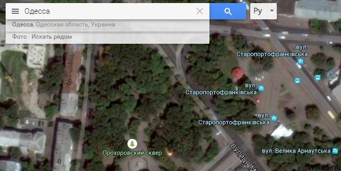 Интересные места в Google Maps