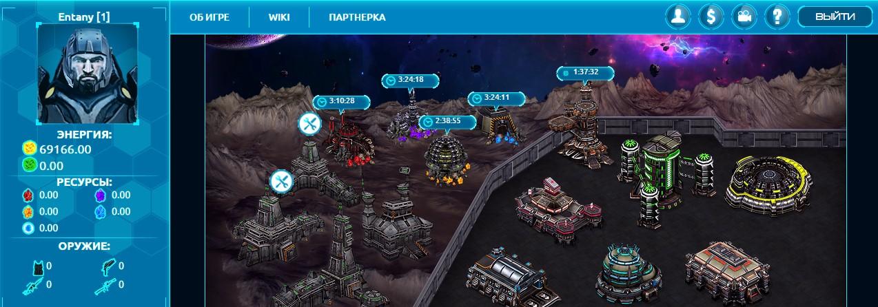 War of the Planets - Игра с выводом средств