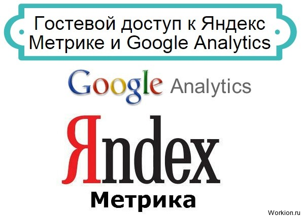Яндекс Метрика и Google Analytics