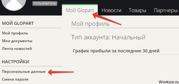 Как добавить товар на Glopart?