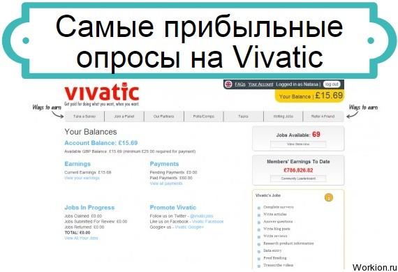 опросы на Vivatic