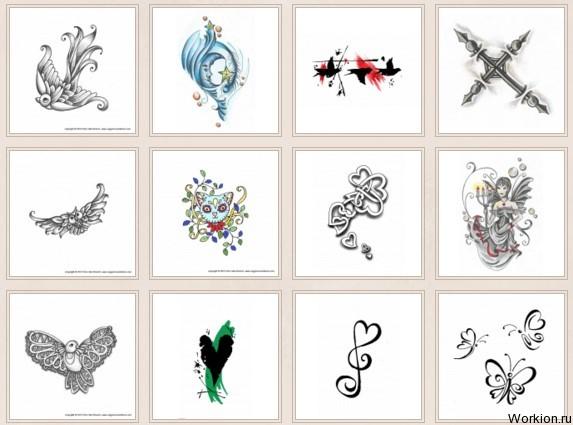 Заработок на эскизах татуировок