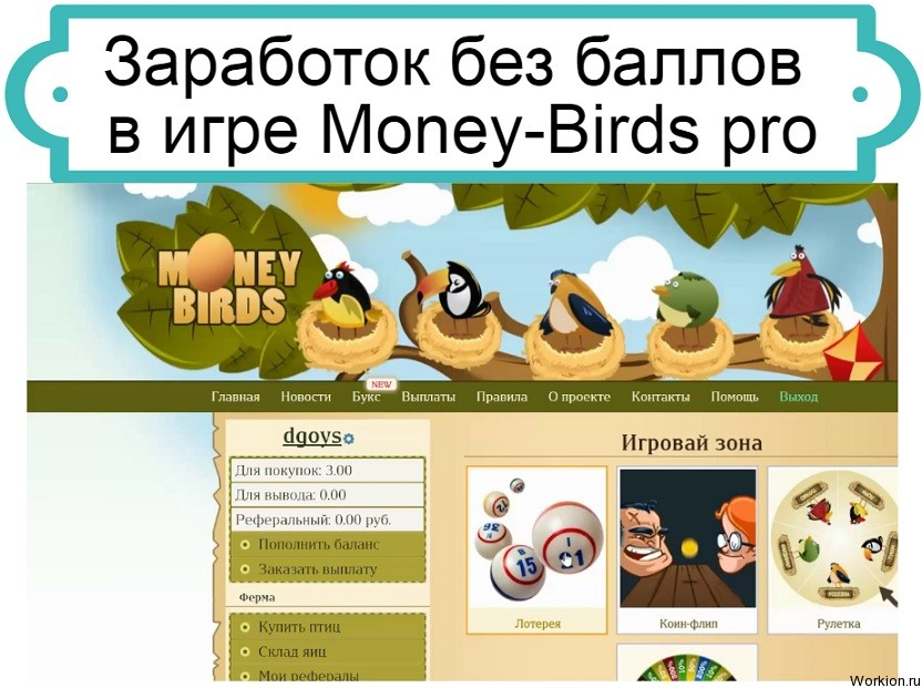 обзор Money-Birds pro
