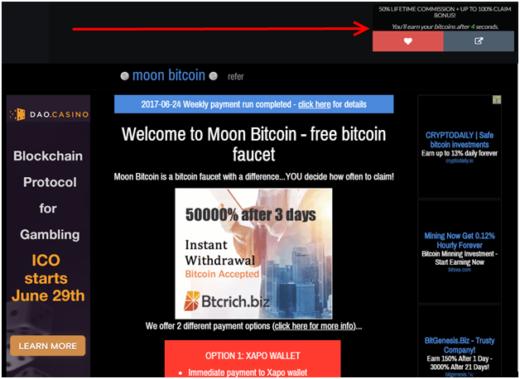 Заработок биткоинов на кликах, лотерее и рефералах с Bitter