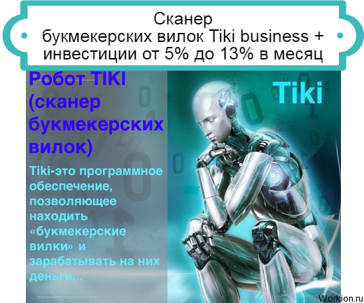 Tiki business сканер