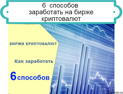 6 способов заработать на бирже
