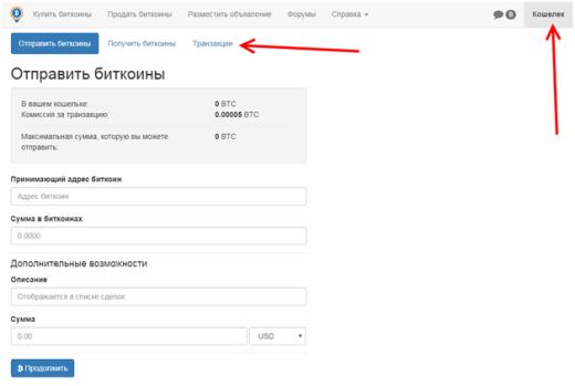 Покупка и продажа Биткоинов на P2P платформе Localbitcoins