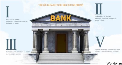 Проверенная игра с выводом денег без вложений MoneyBanks