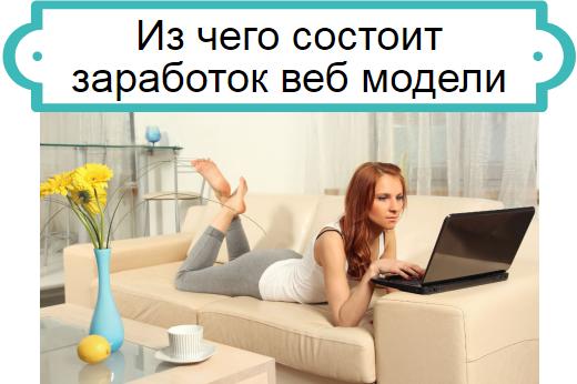 заработок веб модели