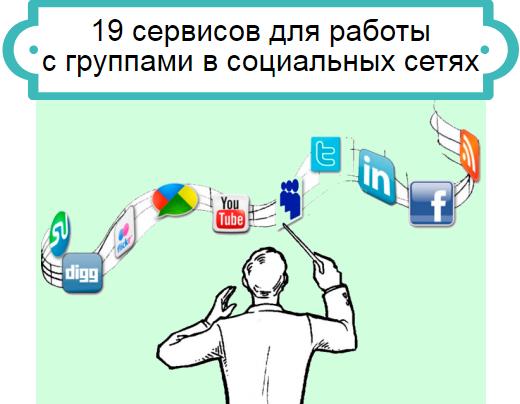 сервисы для групп соцсетей