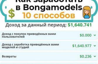 как заработать в bongacams