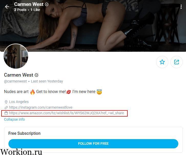 Carmen West onlyfans