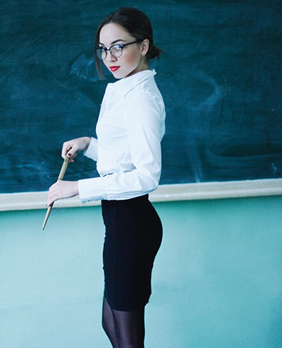 вебкам учительница