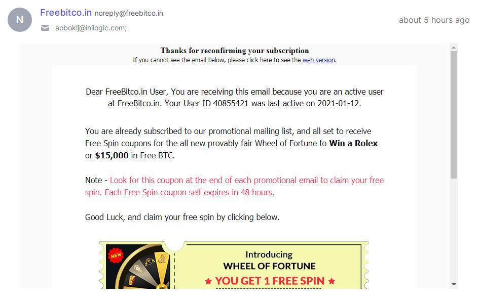 Новая беспроигрышная игра от Биткоин крана Freebitcoin - обзор Wheel of Fortune, как играть и что можно выиграть