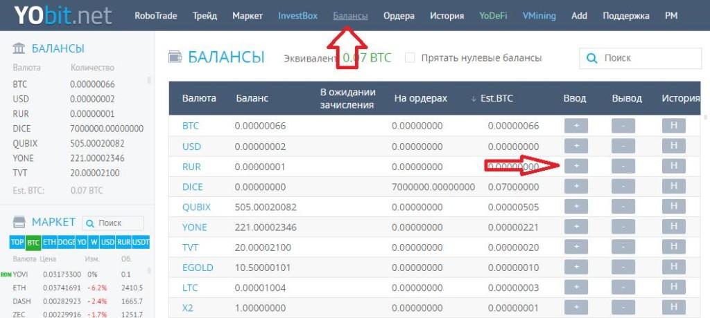 YoBit биржа