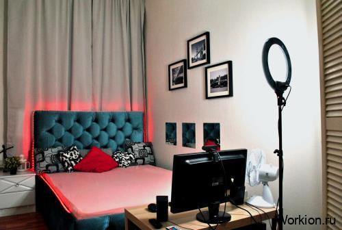 комната для вебкам модели