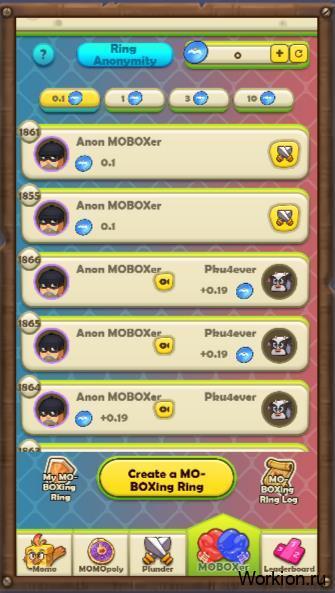 Moboxer mobox